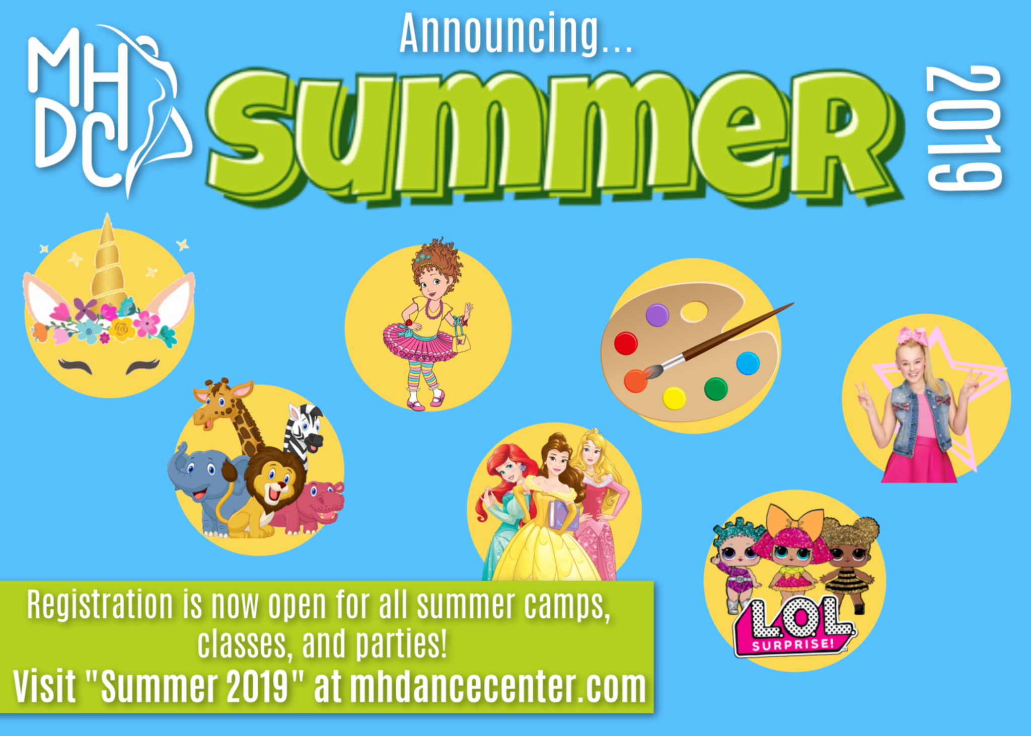 Summer Info is Here!